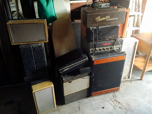 The Markam Brothers Old Music Gear (April 30 2016)