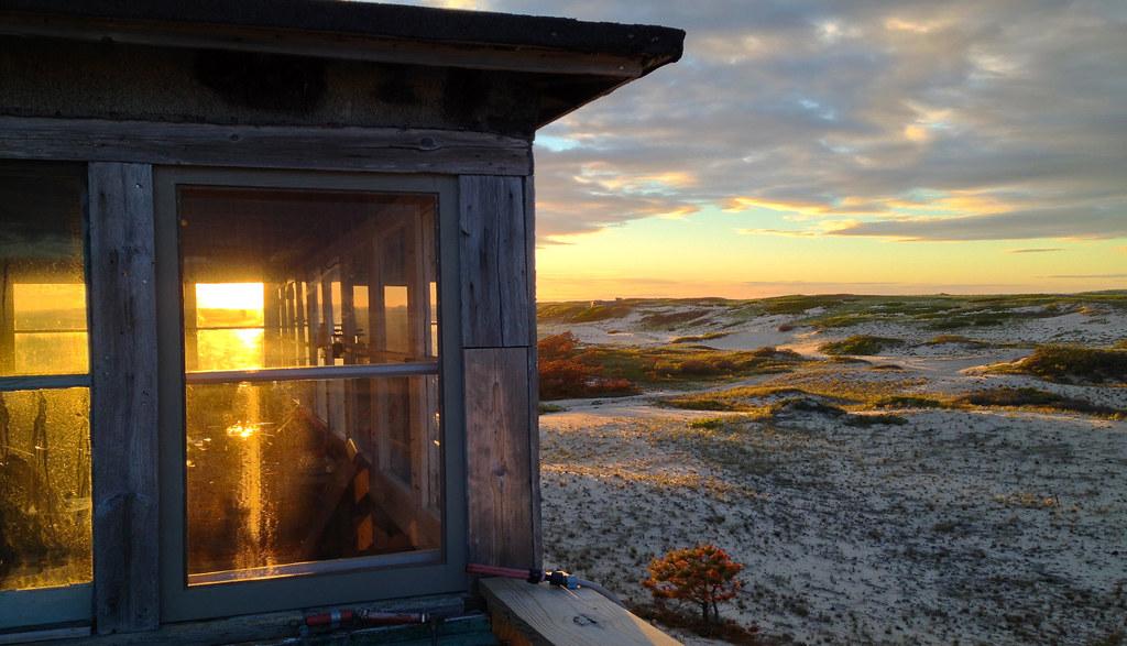 Dune Shacks Cape Cod Part - 38: ... Cape Cod : Ray Wells Shack Sunset | By Chris Seufert