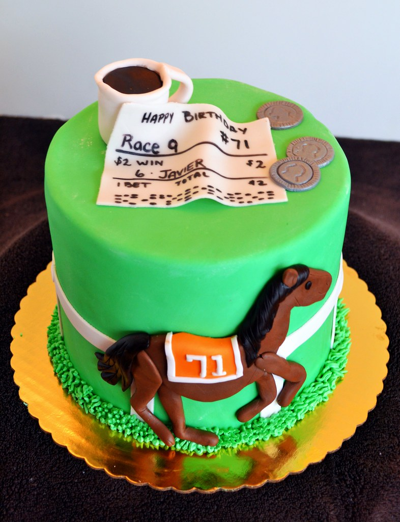 Horse Racing Birthday Cake Simply Sweet Creations Flickr