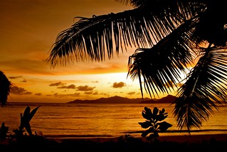Seychelles sky fired Seychelles