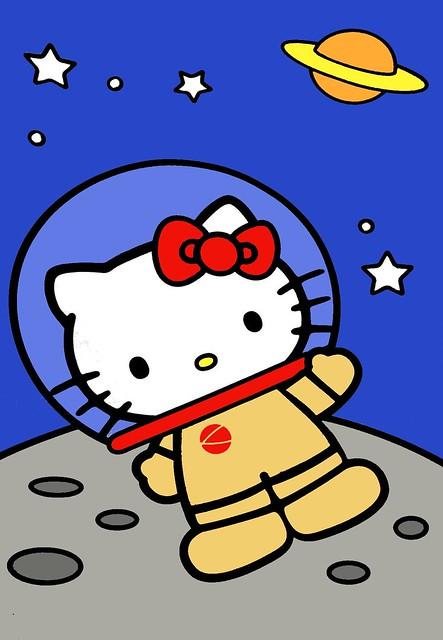 astronaut kitty - photo #32