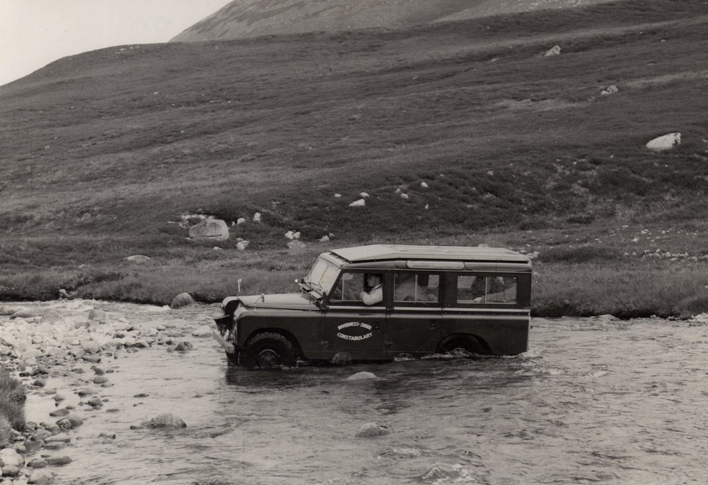 invernessshire constabulary mountain rescue offroad vehi