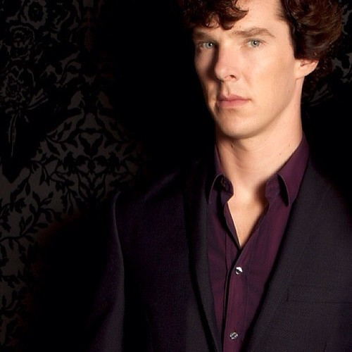 The famous purple shir...