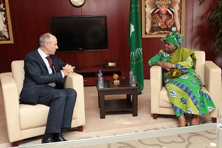 WIPO Director General Meets Chair of African Union Commission | by WIPO | OMPI