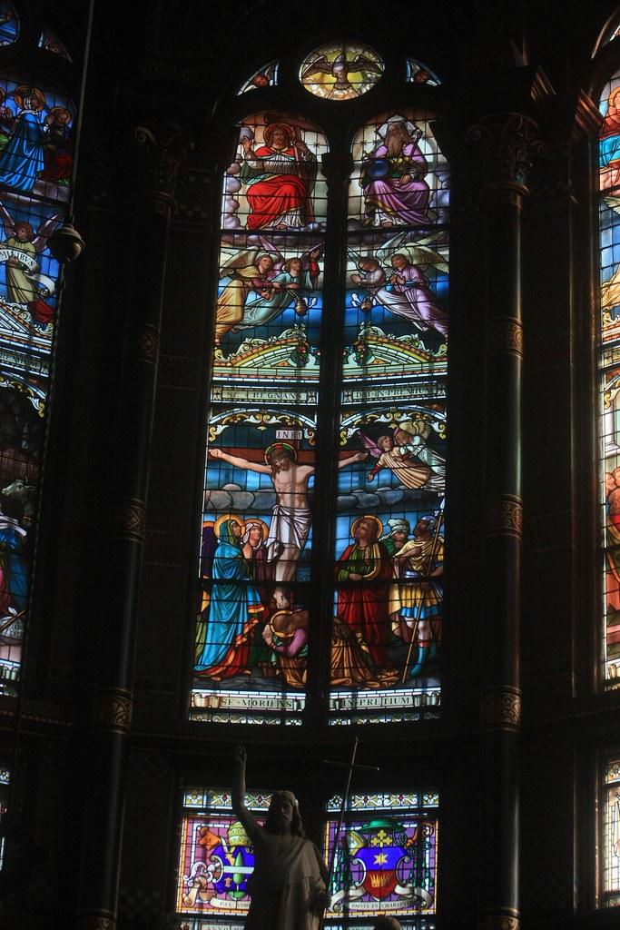 Glas In Lood Amsterdam.Amsterdam Sint Nicolaasbasiliek Koor 02 Glas In Lood 0