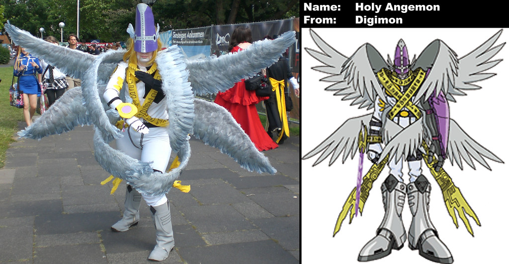 digimon holy angemon maxstew7s cosplay photography