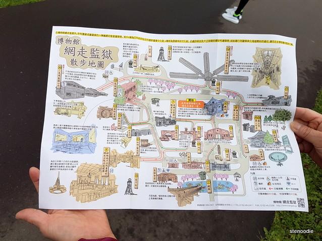 Abashiri Prison Museum map