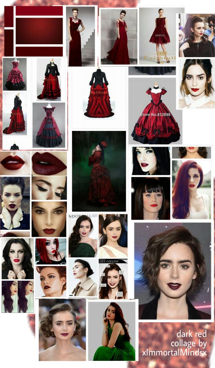 Dark red, postingvprojects.blogspot.com