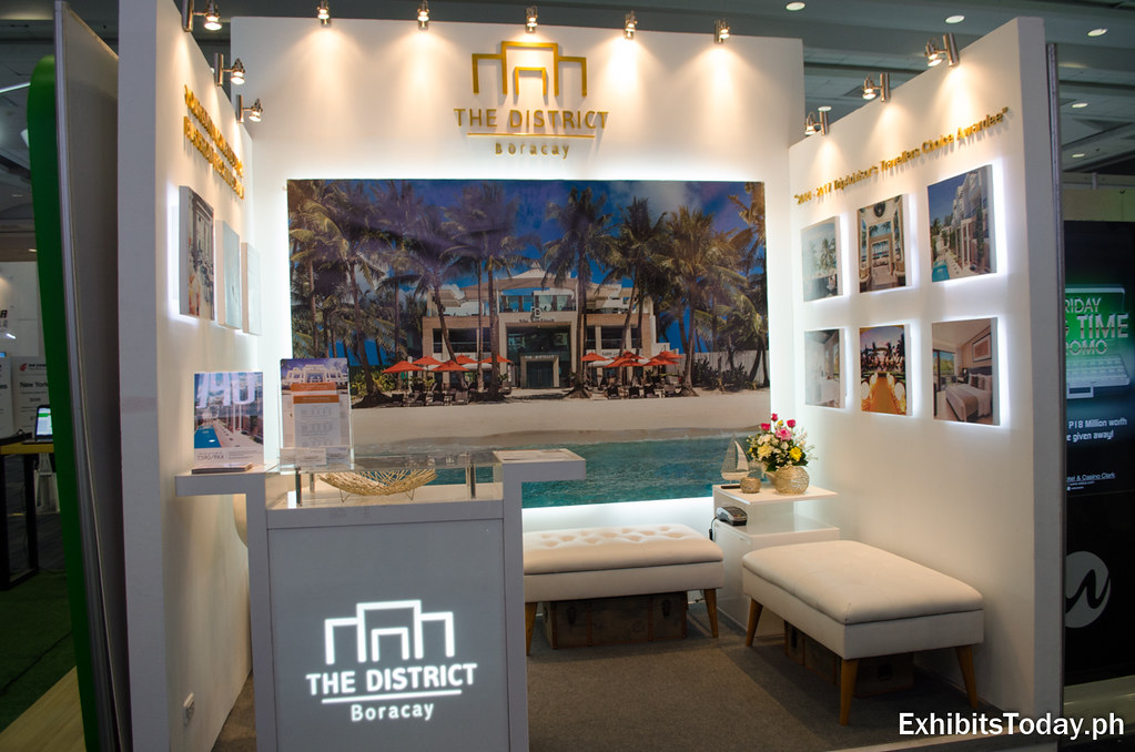 The District Boracay Exhibit Booth