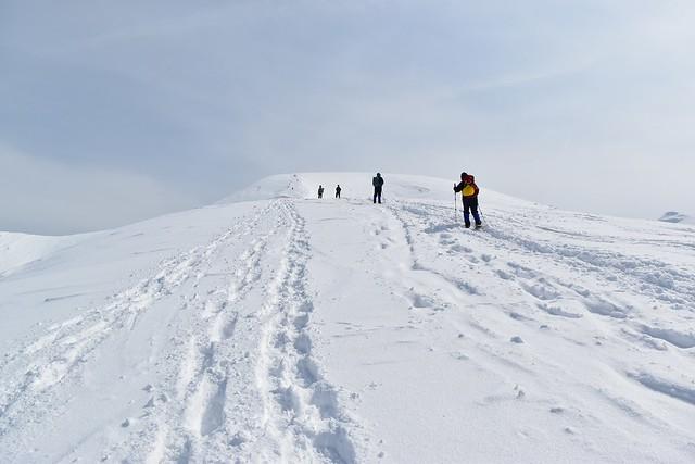 3月の守門岳 雪山登山