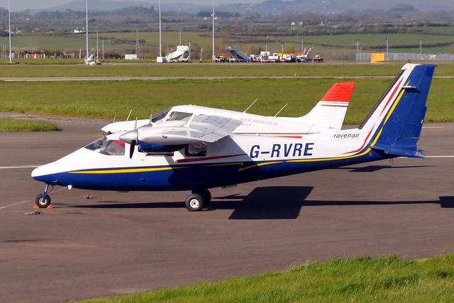 Ravenair P68B G-RVRE CWL