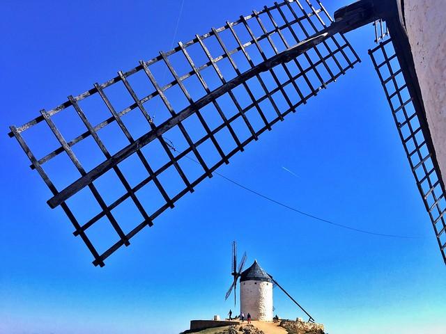Molinos de viento en Consuegra (Ruta de Don Quijote en coche)