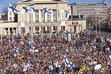 Finland 1995 Celebration