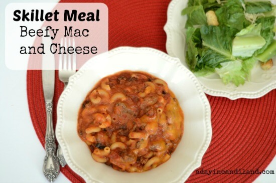 Beefy Mac and Cheese