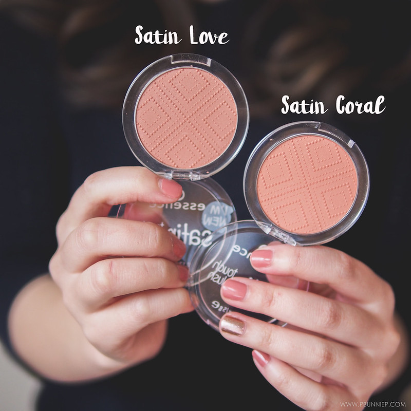 ESSENCE Satin Touch Blush Review