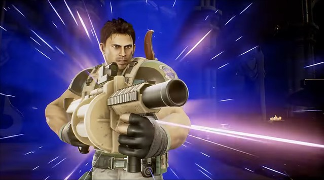 Marvel vs Capcom Infinite - Chris Redfield