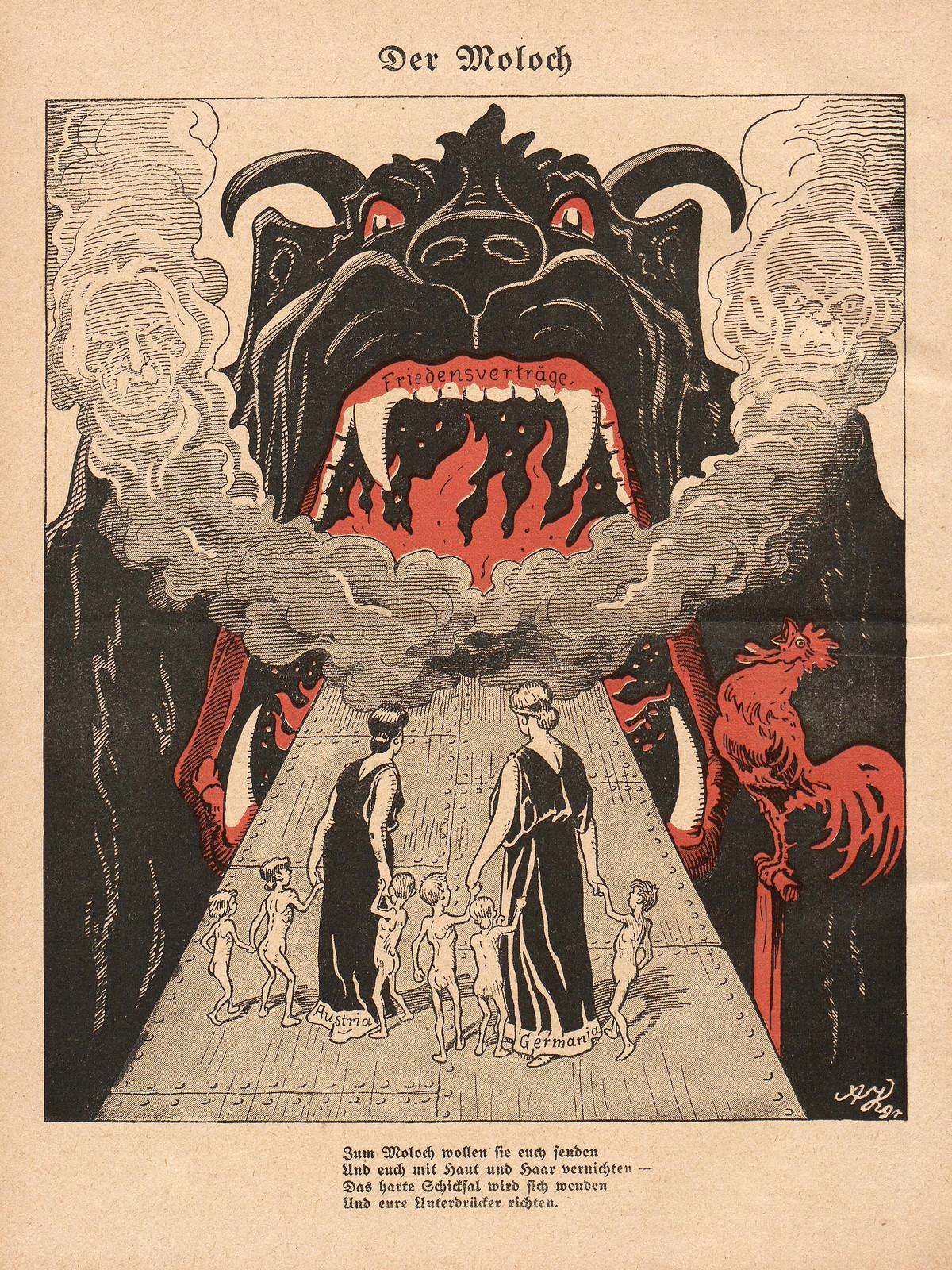 Arthur Krüger - The Moloch, 1920