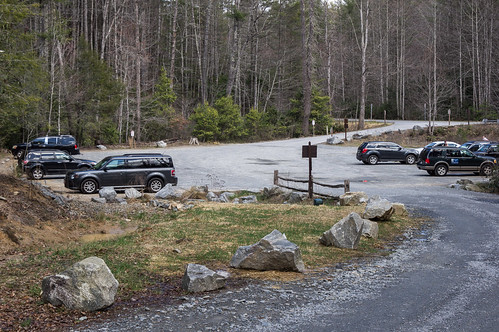 Original Hooker Falls Parking Area