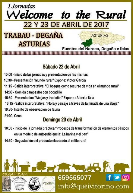 Programa I Jornadas Welcome to de Rural