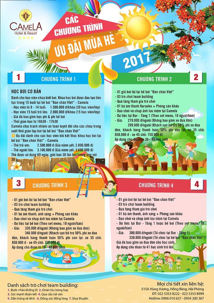 Các chương trình ưu đãi mùa hè 2017