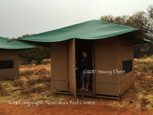 tent camping in Australia's Red Centre. From Adventures in Camping