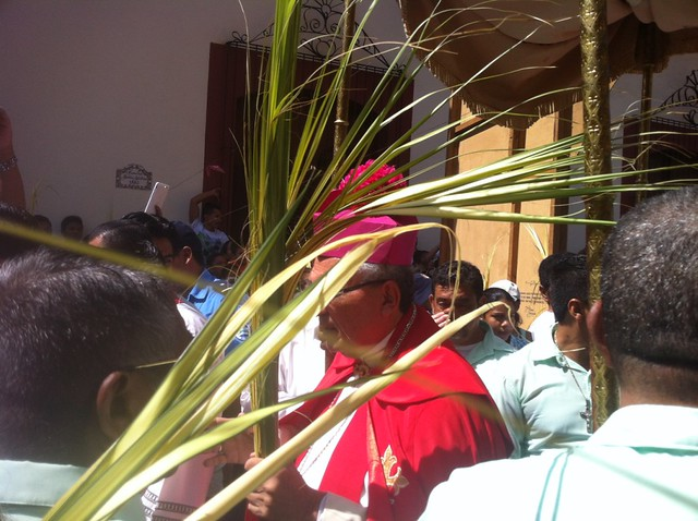 Domingo de Ramos na Nicarágua