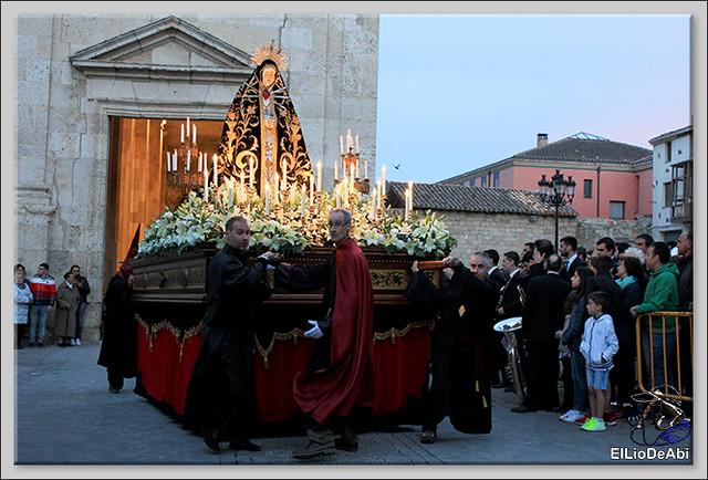 Procesión del Santo Entierro en la Semana Santa de Briviesca 2017 25