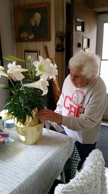 Aunt Dot's 96th birthday