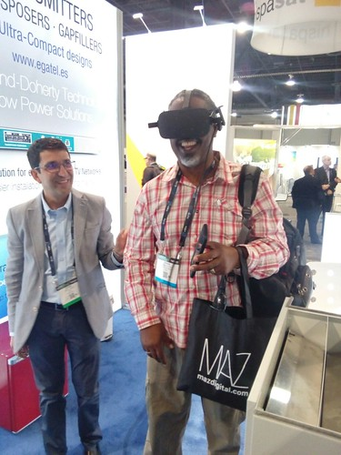 Egatel shows new high-efficiency TV transmitters through virtual reality at the NAB Show in Las Vegas