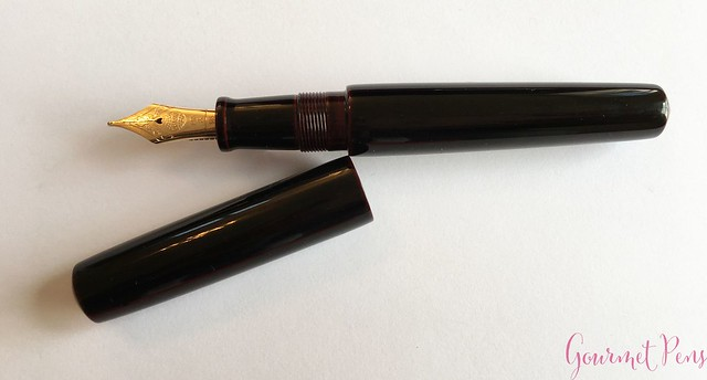 Review Nakaya Piccolo Cigar Kuro-Tamenuri Fountain Pen @Iguana_Sell 12