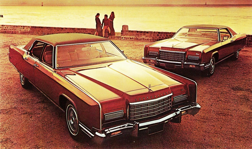 1973 Lincoln Continental Town Car And Town Coupe Alden Jewell Flickr