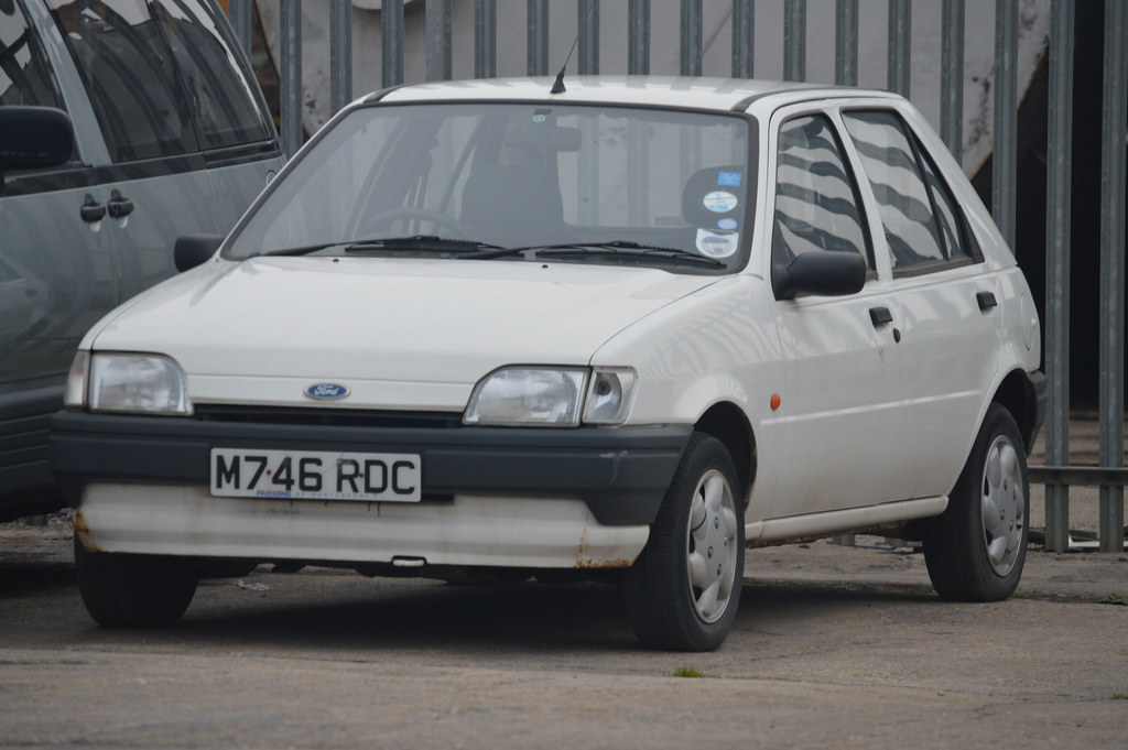 m746rdc ford fiesta mk3 automatic photography on teesside flickr. Black Bedroom Furniture Sets. Home Design Ideas