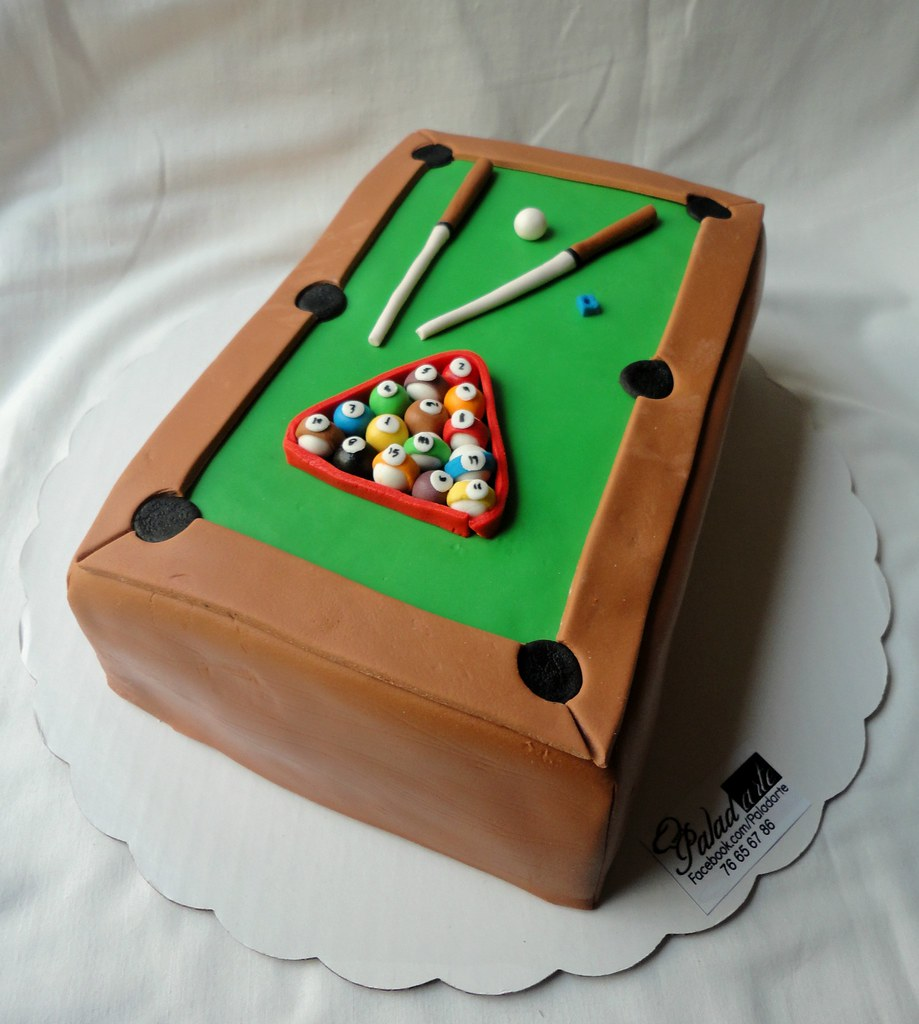 Pool Table Cake Paladarte El Salvador Flickr - El pool table