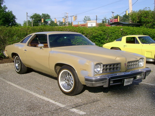 1975 Pontiac Lemans Lost In The 50s Cruise Night Marley