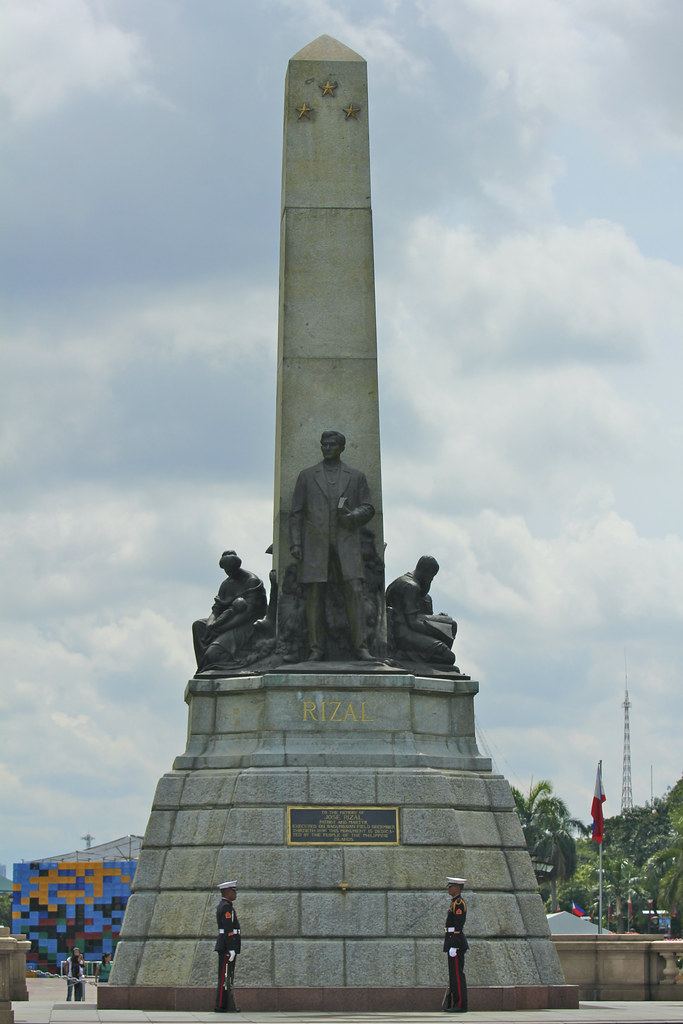 Jose Rizal Monument Luneta Park Pictured Here Is The