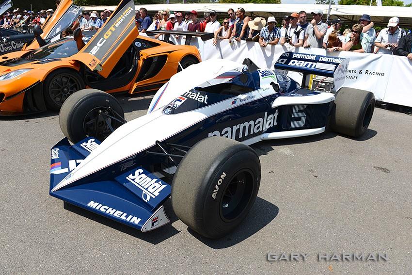 Brabham Bmw Bt 52 F1 Driven By Nelson Piquet Parmalat Flickr