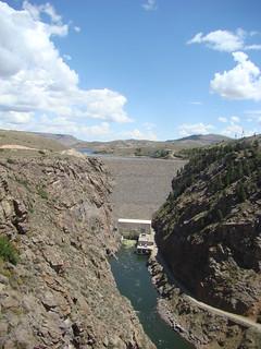 45 Dam in Gunnison river