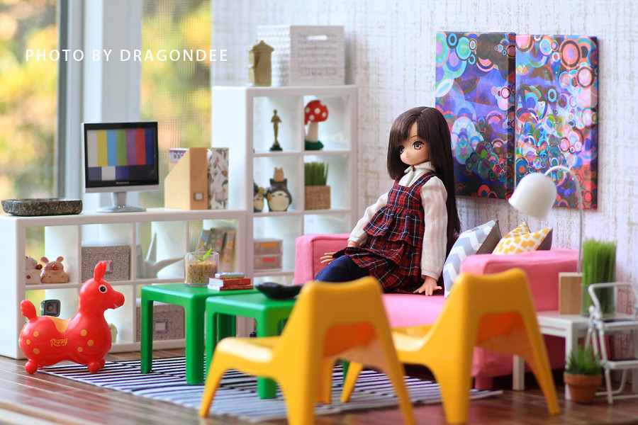 Ikea Huset Doll Furniture All The Accessories Are From