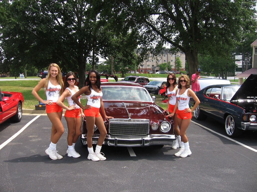 Hooters Of Conyers Charity Car Show Conyers Ga Aug 3