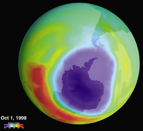 Hole in the Ozone Layer Over Antarctica | by NASA on The Commons