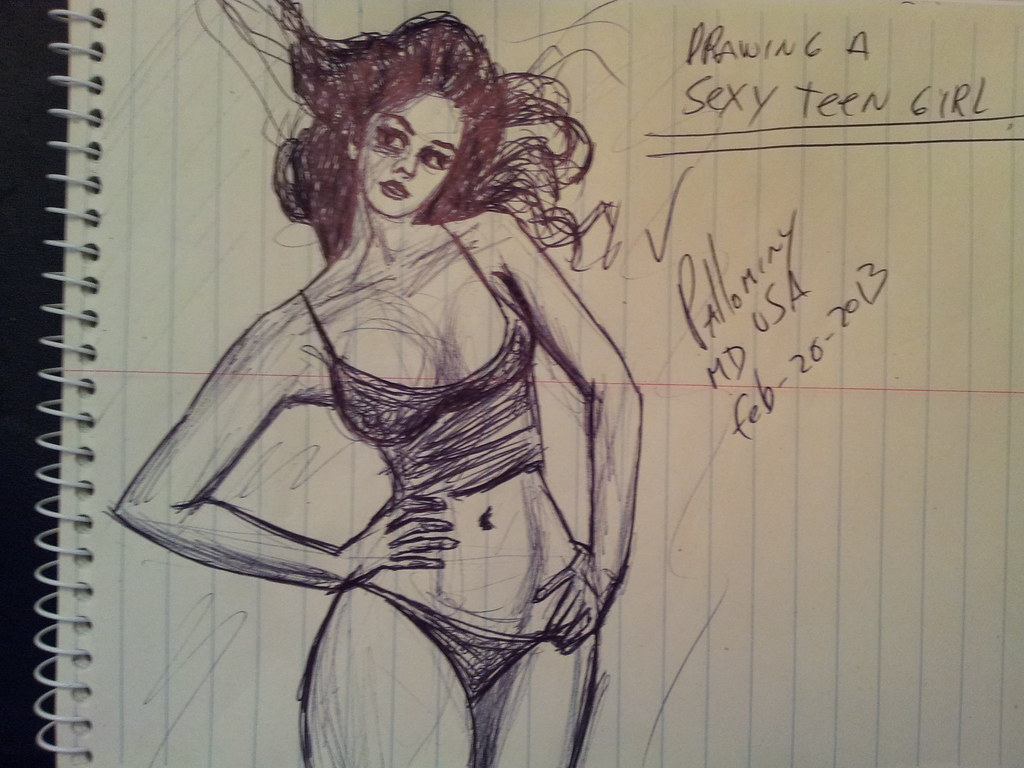 Sorry, that Nude hardcore drawings right!
