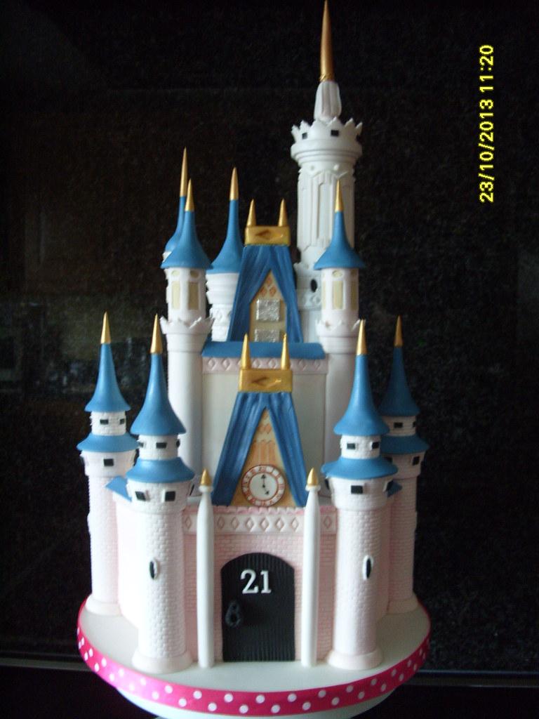 Disney Castle Cake Topper Uk
