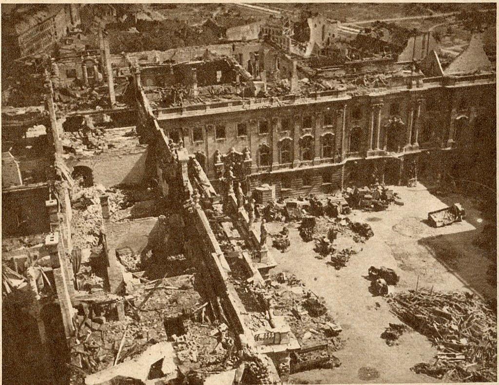 1945 After War Destroyed Buda Castle Www Flickr Com