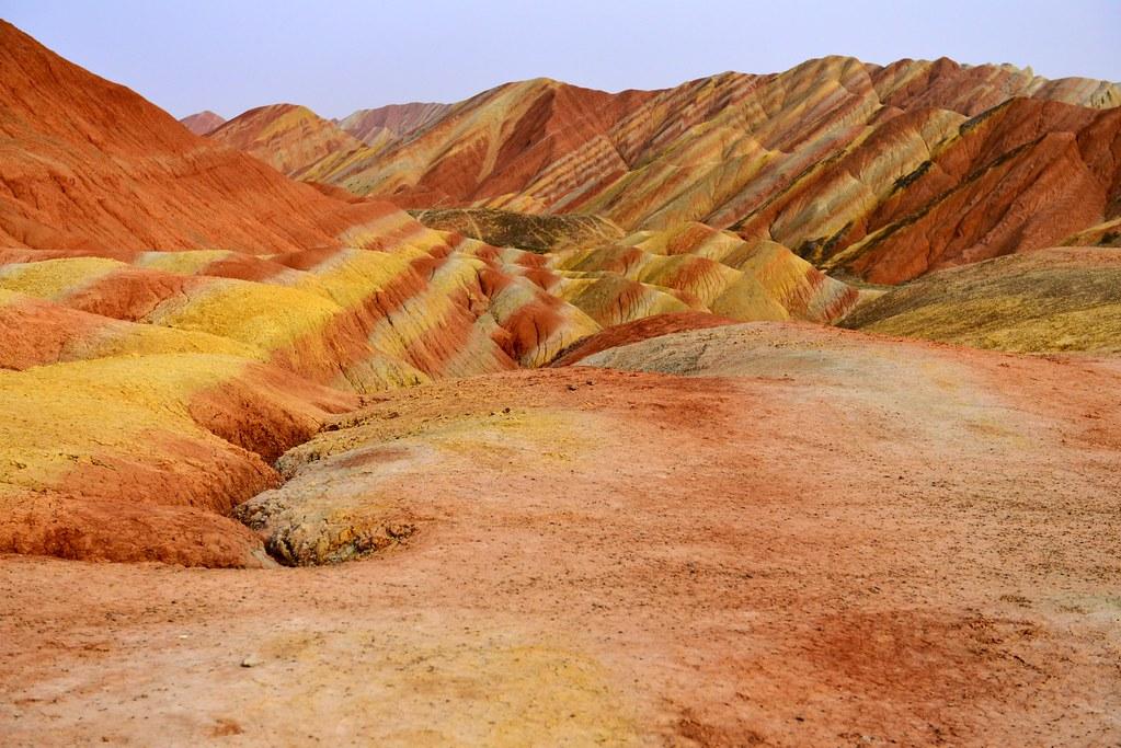 Zhangye danxia landform, colorful mountains | mein_bilderbuch | Flickr