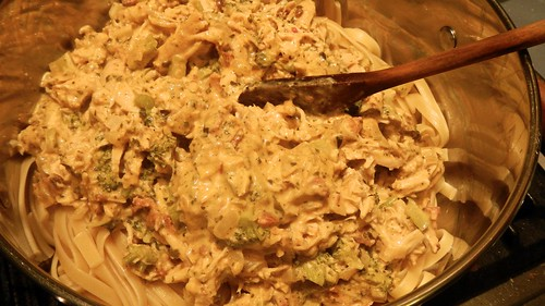 Chicken Bacon Ranch Pasta 15