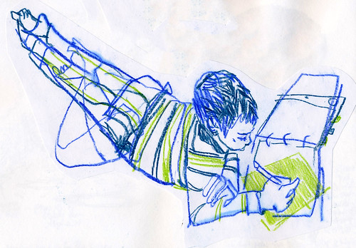 Sketchbook #102: Reading Time (in December)