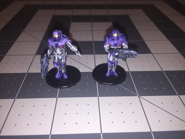 Concord Leader and Heavy Weapons Trooper
