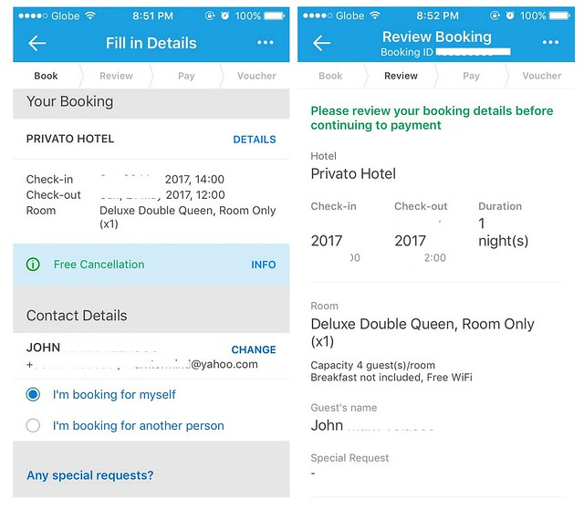 Traveloka App Book Hotel