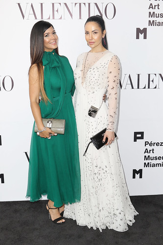 Maria Jocobo and Juliana Ramirez at PAMM Art Of The Party Presented By Valentino