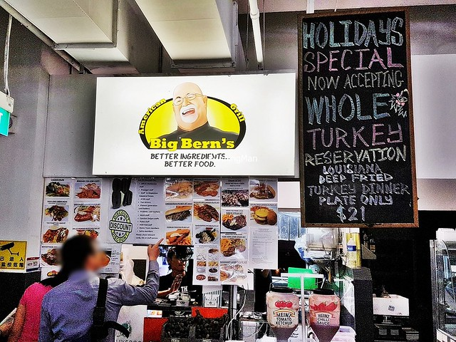Big Bern's American Grill Facade